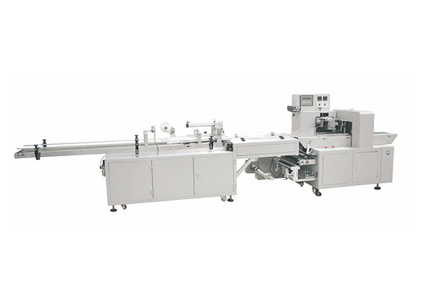 -Double rows cup packing machine