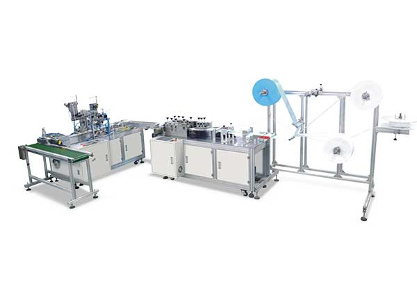 GC-1950-1-FULL AUTOMATIC FACE MASK MAKING  PRODUCTION LINE